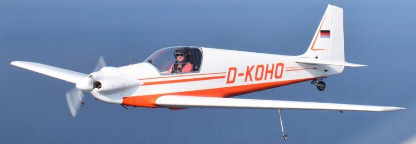 Vol de patrouille avec Sylvain