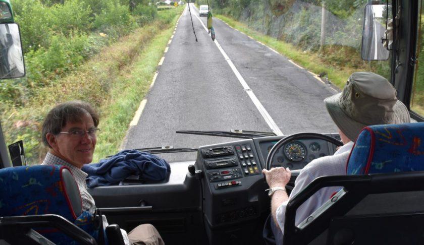 En bus pour Dublin