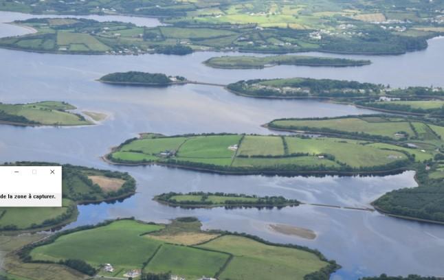 lacs dans les comtés de Cavan et Leitrim