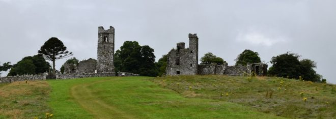 Les ruines de Hill of Slane