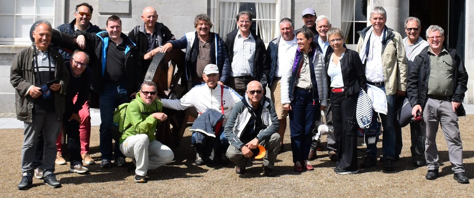Les heureux participants du tour d'Irlande 2016