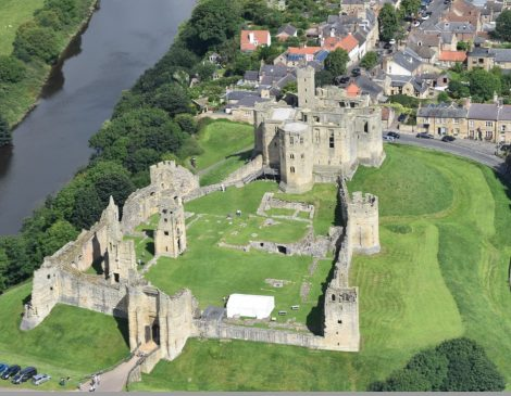 WARKWORTH castle,